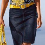 юбка из джинсов своими руками отделка идеи