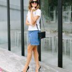 юбка из джинсов своими руками фото оформление