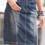 юбка из джинсов своими руками идеи фото