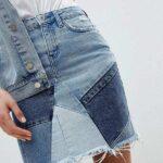 юбка из джинсов своими руками виды