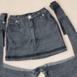 юбка из джинсов своими руками виды декора