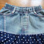 юбка из джинсов своими руками фото идеи