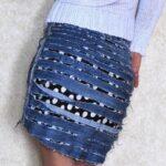 юбка из джинсов своими руками дизайн