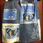 юбка из джинсов своими руками дизайн фото