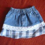 юбка из джинсов своими руками фото дизайн