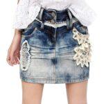 юбка из джинсов своими руками фото дизайна