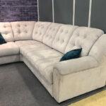 замшевый диван большой