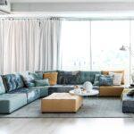 замшевый диван оформить