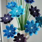аппликации из салфеток цветы