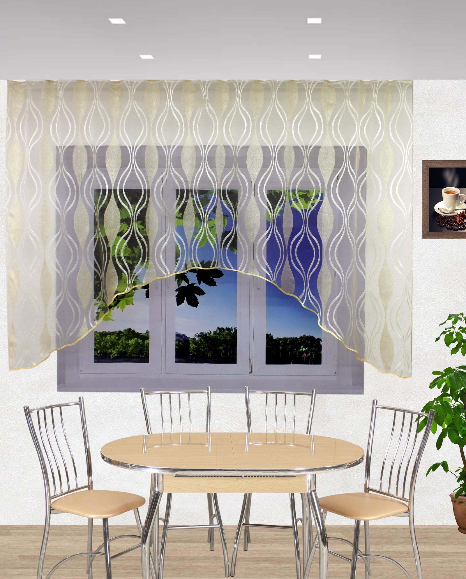 шторы на окно в кухне модерн фото городе много
