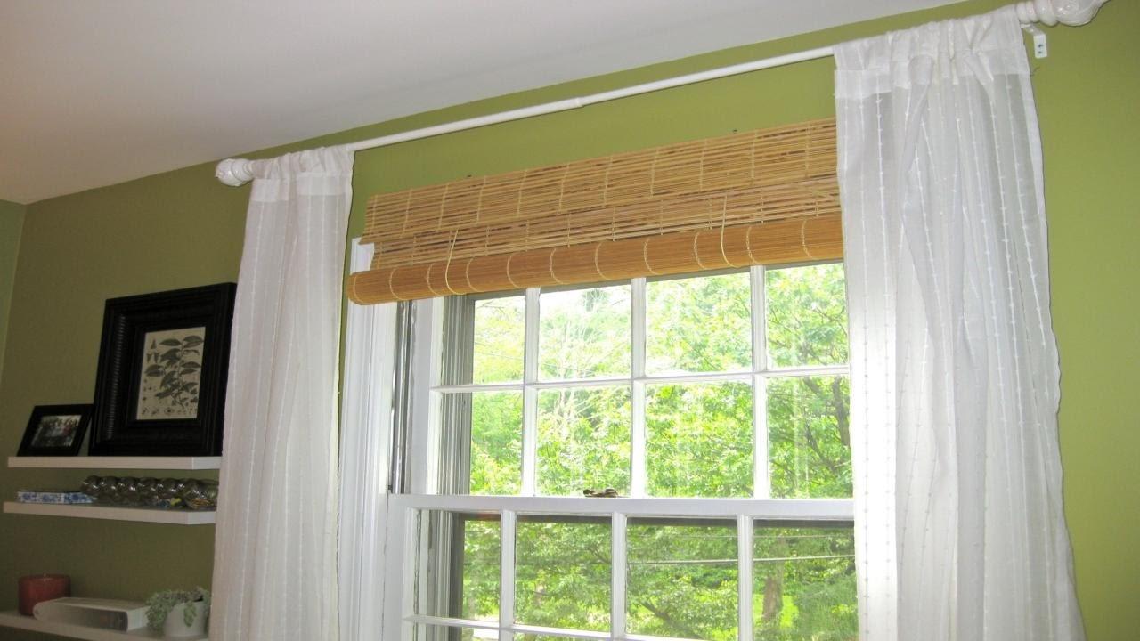 аккуратная эксплуатация бамбуковых штор