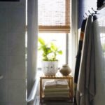 бамбуковые шторы в ванной
