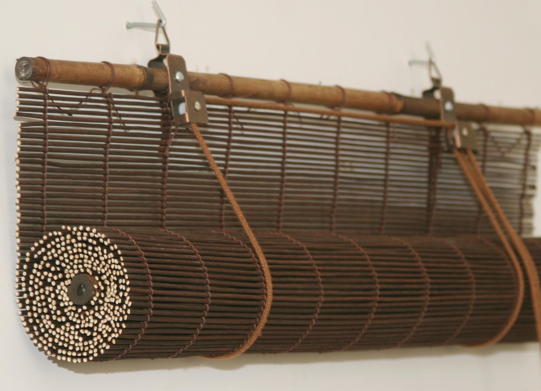 бамбуковые шторы в валике