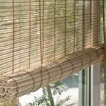 гирокие бамбуковые шторы