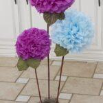 цветы из салфеток идеи дизайна