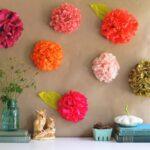 цветы из салфеток идеи декора