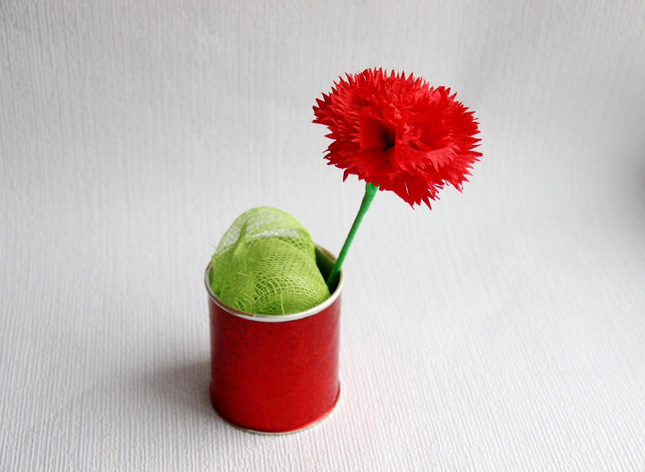 соединение стебля с цветком