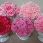 цветы из салфеток фото видов