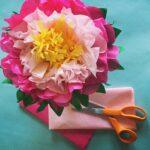 цветы из салфеток виды идеи