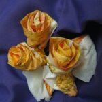 цветы из салфеток фото идеи