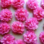 цветы из салфеток фото дизайна