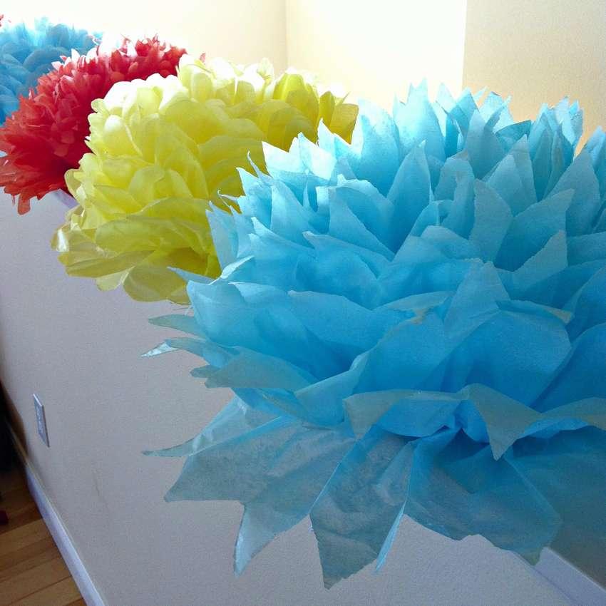 цветы из салфеток фото