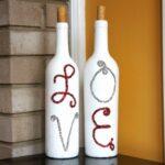 декор бутылки лав