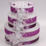 декор коробки торт