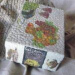 декор коробки мозаикой