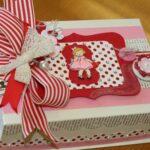 декор коробки с куклой