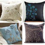 вышитая подушка продать