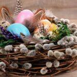 декупаж яйца на пасху