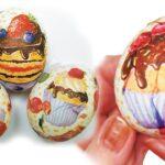 декупаж яйца изображение