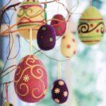 декупаж яйца на дерево