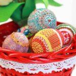 декупаж яйца вязать