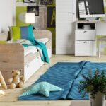деревянная высокая детская кровать