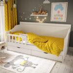 детская кровать с защитными бортами