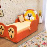 детская кровать в виде тигренка