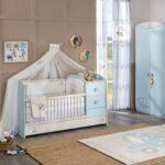 кровать с защитой для новорожденных