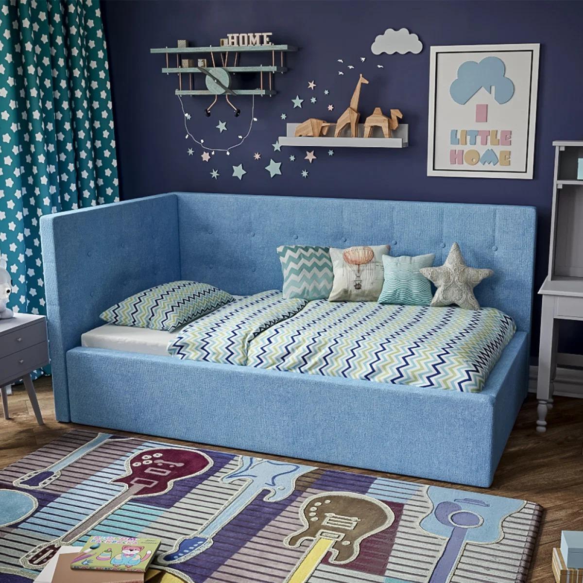 детский диван кровать декор