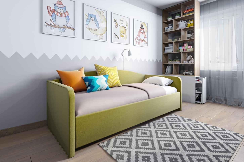 детский диван кровать фото декора