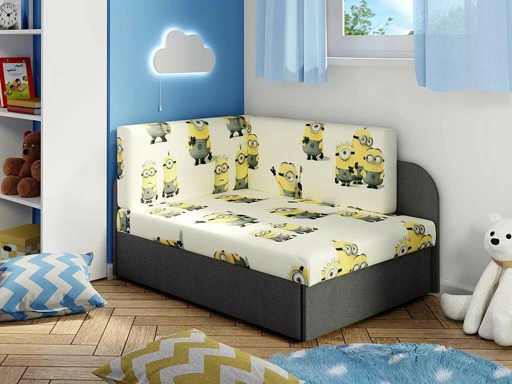 детский диван кровать фото дизайна