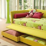 детский диван кровать оформление фото