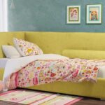 диван кровать для ребенка интерьер фото