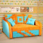 диван кровать для ребенка идеи интерьер