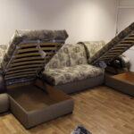 диван с механизмом аккордеон декор идеи