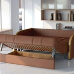 диван с механизмом аккордеон идеи интерьера