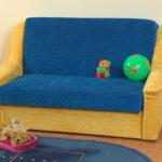 диван с механизмом аккордеон оформление идеи