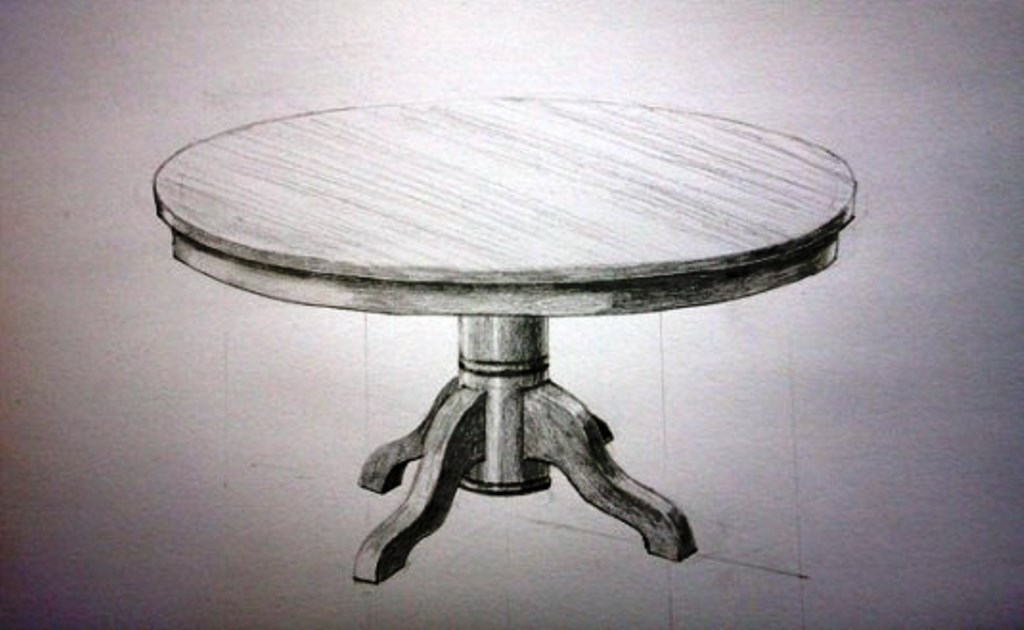 эскиз стола