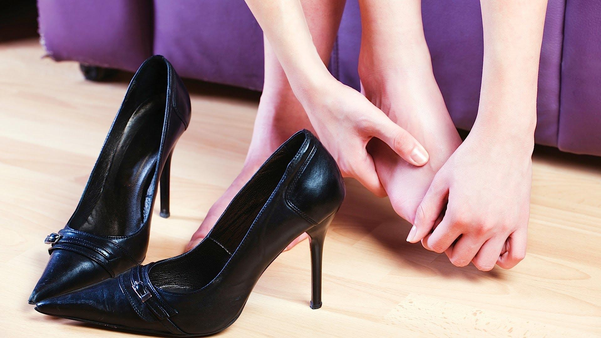 Разносить новые туфли